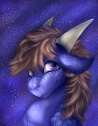 (com) Pretty as the Night Sky by GoldenGriffiness