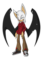 Red the Bat by rouge2t7