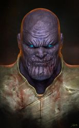 Thanos by AdduArt