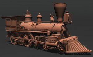 The General Locomotive by xmas-kitty