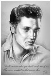 Elvis by hatefueled