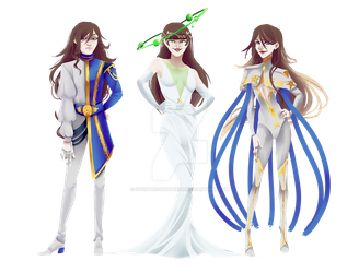 [ Vesna ] triplets fancy dressing by CyciTheConqueror
