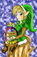 Legend of Zelda: Oracle of Ages by SuzuriHeinze