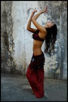belly dancing costume 1 by Sabziii
