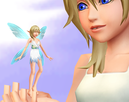 Namine (fairy) DL by Reseliee