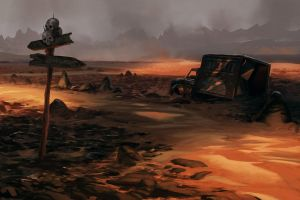 The plain of bandits by MarkTarrisse