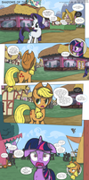 MLP:FiM - Shadows of the Past #13 by PerfectBlue97