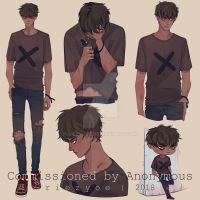 C 3 - Anonymous by riezyoee