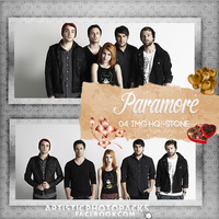 -Photopack Paramore 03 by SomeoneInTheForest