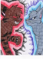 Starclan vs The Dark Forest by Icewhisker16