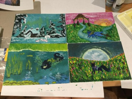 Esk paintings by AliLV