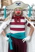 Marine Captain Buggy the Clown Debute by negativedreamer