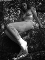 nude in woods 7 by deadheadphotography