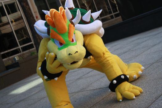 Bowser Cosplay - Anime Boston 2012 - 1 by destinyhunter86