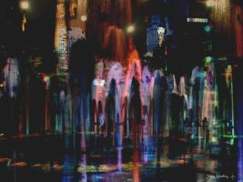 Fountains of Night 2 by CosmoWonderly