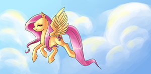 Counterbalance of Fluttershy! by Zaphy1415926