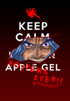 Keep Calm and --- NO ITEMS EVER! T-shirt Design by a745