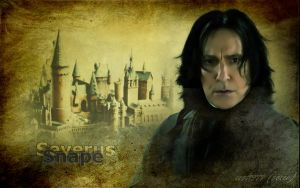 Severus Snape - Hogwarts by cost1977