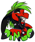 Toon Badge Dingo By Spockirkcoy by DingoTK