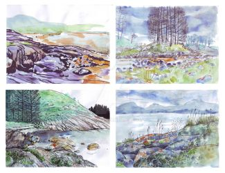 Norway sketches by 3001