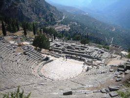 Greece, Delphi Theater by elodie50a