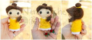 Disney Princess Belle Amigurumi by Kaijere