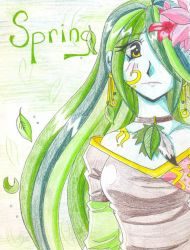 :Spring: Reborn from the cold by Mimiche