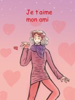 APH: Je t'aime_Happy Valentine by SingerHeart16