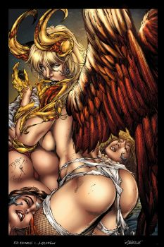 30 Angelus by Ed Benes Colored by LadyOrange