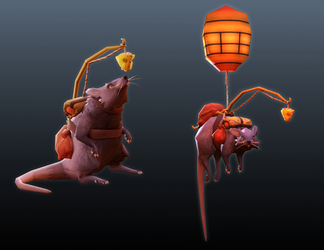 Lester the Rat by gordon131