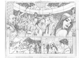 Superboy 12 page 02 and 03 by robsonrocha