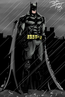 Arkham Batman by TheoFayde