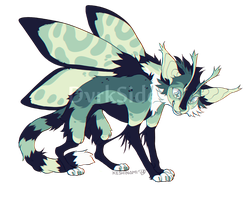 Catmoth Adopt #2 | OTA CLOSED by DvrkSide
