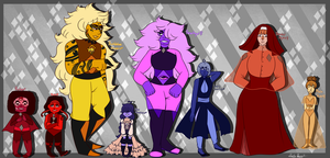 Defect SU: Star Sapphire's Team by SpiiderSine