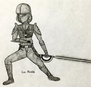Untitled Tenth Brother drawing by Marches45