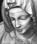 Pieta Charcoal by blind-faith