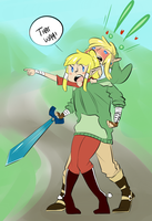 LoZ: THAT WAY by MitarashiBoi