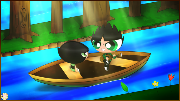 Butchercup Boat-ride Date (Contest) by Pinkycandypie