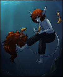 In The Deepest Ocean by Astral-Athenaeum