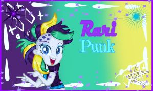 MLP Punk Rarity EG (WBG) by SpeedPaintJayvee12