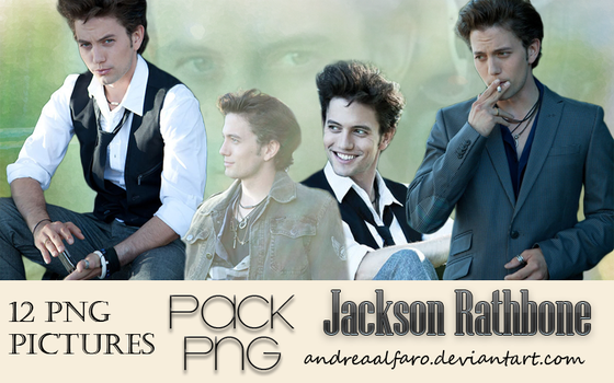Pack PNG Jackson Rathbone by AndreaAlfaro