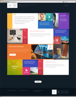 12 - Flat and Responsive PSD Template by Itembridge