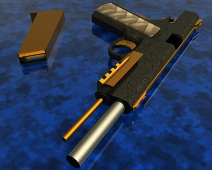 M1911a3 by AndrewHC