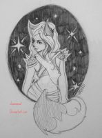 Stary night by clawsoncat