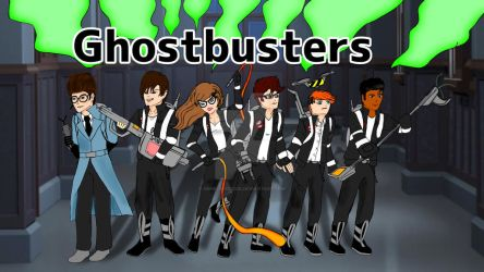 The Young Ghostbusters are back! by GBMelendez23k