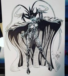 Hela by OuthouseCartoons