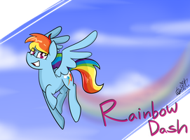 Rainbow Dash by BefishProductions