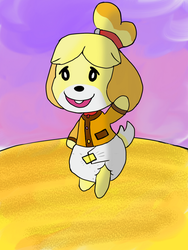 Isabelle in fall by BMAN44