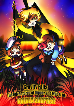 Gravity Falls Comic Cover by Jacky-Bunny