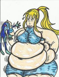 SSBBW Samus by Errorman79